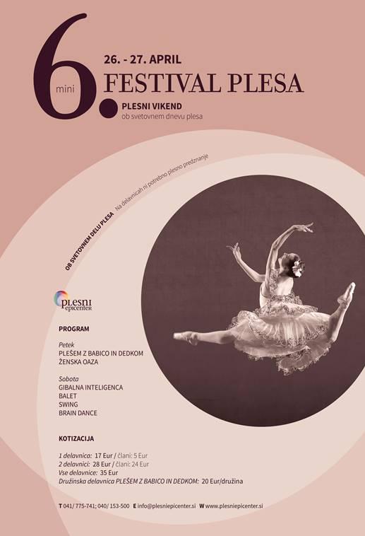 Ženska oaza in festival plesa.